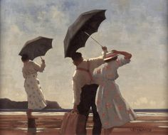 Jack Vettriano - The Bathing Party II