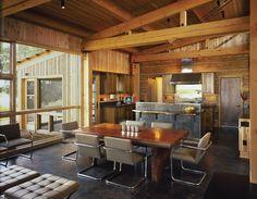 dining room & kitchen.