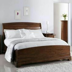 Ivory Bedroom Furniture Uk Shop, Willis And Gambier Ivory Bedroom Furniture, French Ivory Bedroom Furniture Fromgentogenus, Ivory Bedroom Furniture, Bed Furniture, French Furniture, Luxury Furniture, Wooden Sleigh Bed, French Country Bedrooms, Buy Furniture Online, Discount Furniture, Head Boards