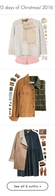 """""""25 days of Christmas! 2016 🎄"""" by genesis129 ❤ liked on Polyvore featuring Dorothy Perkins, MANGO, Hermès, Zero Gravity, vintage, Madewell, UGG, H&M, FOSSIL and Williams-Sonoma"""