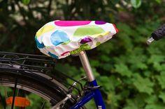 Anleitung Überzug für Fahrradsattel nähen