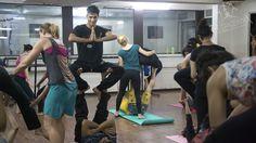 A stress busting workshop by Yamuna Devi at The Danceworx Mumbai!