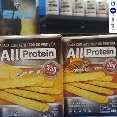 ALL PROTEIN EM GOIÂNIA - SNC GYN  Pessoal de #goiania podem encontrar os produtos proteicos @allprotein na loja @sncgyn  #BiscoitoDeQueijo protéico!!! Qualidade com novidade, na SNC temmmmm. Às vezes a dieta pede uma variada e esses pacotinhos podem te salvar , na mesma linha tem também de #MaçãC/Canela #Cacau e #Churrasco, são assados, crocantes, saudáveis e com 35g de proteína por embalagem. ...