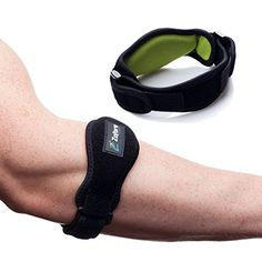 Best Tennis Elbow Brace 2 Pack by Zofore - Effective Pain Relief for Tennis Elbow - Adjustable Counterforce Braces With Compression Pad Support - E-Book Bonus >>> Details can be found by clicking on the image.
