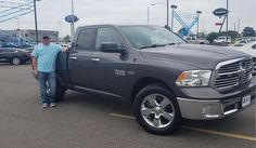 "Stacy, wishing you many ""Miles of Smiles"" in your 2014 RAM 1500!  All the best, Orr Chevrolet and KENYON FEDERICK."