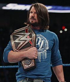 WWE World Heavyweight Champion AJ Styles