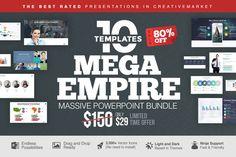 MEGA EMPIRE Powerpoint Bundle by Slidedizer on Creative Market