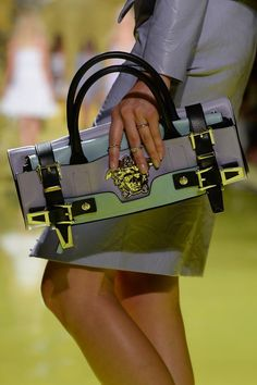 Detailed photos of Versace Spring / Summer 2014
