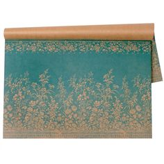 Woven Floral Paper Placemats #laylagrayce