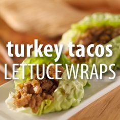 Weight Watchers Chef Search: The Chew Turkey Taco Lettuce Wraps Recipe