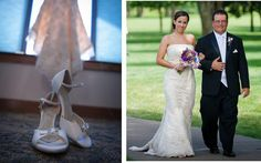 A Moment in Time... Lovely Sarah in her Angela Nuran white Eternity wedding shoes