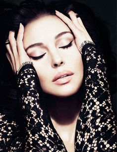 Monica Bellucci for Dolce & . I admire this women. She is so beautifull