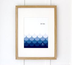 Set Sail Nautical Art Print