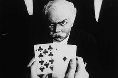 "Rudolf Klein-Rogge, ""Dr. Mabuse Der Spieler (the Gambler)"", directed by Fritz Lang, 1922"