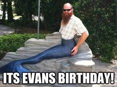 Happy Birthday Mermaid