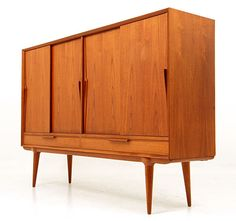 Omann Jun Danish Modern Teak Sideboard