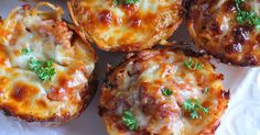 "These Spaghetti Pie Muffins are an adaptation of my recipe for ""Spaghetti Pie"" the casserole. They are just delicious.  You can, of ..."