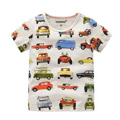e79b2185e94 Children s T-shirt boys Designer Cotton Cartoon. Baby ShirtsBaby ...
