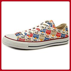 Converse Andy Warhol Edition Cambells Soup Can Ox Sneakers (11 B(M) US Women / 9 D(M) Men) - Fun stuff and gift ideas (*Amazon Partner-Link)
