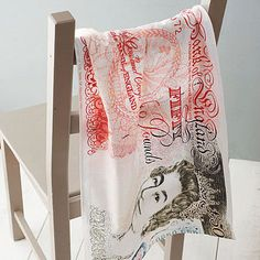 Bank Note Tea Towel - view all gifts for him Dish Towels, Tea Towels, Sunburst Mirror, Faux Fur Throw, Inspired Homes, Kitchen Accessories, Gifts For Him, House Warming, Best Gifts