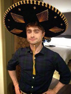 Daniel Radcliffe in México (Mexico City México 2014).