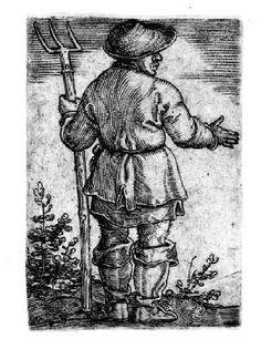 Peasant with Pitchfork (Der Bauer mit der Mistgabel) | Museum of Fine Arts, Boston