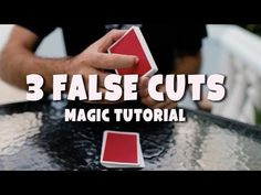 In this video, I teach how to perform 3 of my favorite false cuts that you can use in your magic tricks. Remember, these are meant to be part of your magic e. Magic Tricks Revealed, Magic Card Tricks, Easy Magic Tricks, Magic Tutorial, The Magicians, Illusions, Entertainment, Teaching, Games