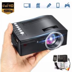 Mini Cinema Home Theater System 1080P HD Multimedia Projector TV AV USB TF HDMI PC LED Digital Pocket Home Projector Home  Price: $ 67.99 & FREE Shipping   #rc #security #toys #bargain #coolstuff #headphones #bluetooth #gifts #xmas #happybirthday #fun