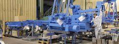 Varios polipastos y plumas destinados a Vazhen CO .  Preparando un lote de polipastos para ser enviados a la empresa Vazhen CO. GH Cranes & Components