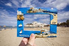 Souvenir Photography - Real World Souvenirs Photographed in a Funny Way
