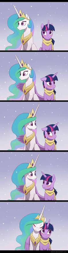 Smooth as heck Twi, Celestia is totally swooning