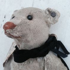 Reserved / layaway Steiff Bear with button by Eclecticpelican Old Teddy Bears, Antique Teddy Bears, Steiff Teddy Bear, Antique Toys, Vintage Toys, Antique Furniture, Etsy Vintage, Charlie Bears, We Bear
