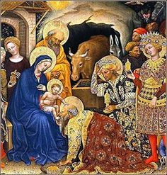 Adoration of the Magi by Gentile da Fabriano c. 1423.