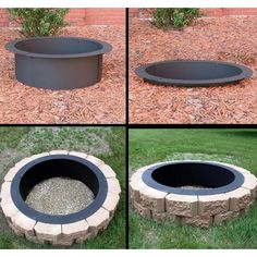 Their DIY allows you to customize your fire pit to match your patio pavers.
