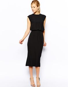 Oasis | Oasis Column Midi Dress at ASOS