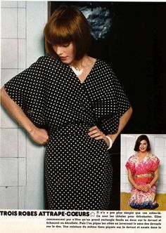 free pattern for an easy dress (french directions)