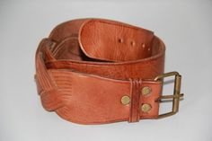 Moroccan Leather Belt - Metal Hardware Measures 43 inches long and inches in width Condition: Great Vintage Condition - Normal signs of wear - Patina on metal hardware Moroccan, Boho Chic, Vintage Jewelry, My Etsy Shop, Belt, Metal, Unique, Leather, How To Wear