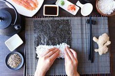 Learn how to make sushi rice recipe that is the best! Perfectly seasoned and sticky every single time. Use it to make sushi rolls or sashimi at home.