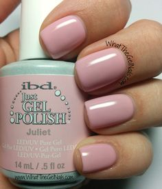 IBD Juliet plus more springy gel polish colors.