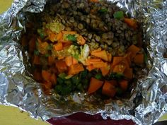 Christine Hennessey: recipe: spice market sweet potato and lentil packe...