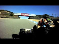 A full lap around Laguna Seca Raceway for the first time in the tracks history in a Birel/CR125 (Stock Moto) shifter kart.