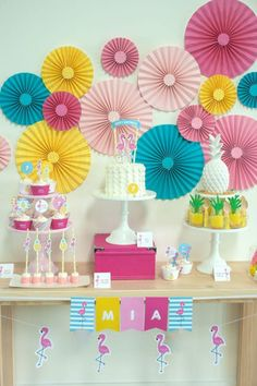 festa-tropical-infantil-tema-flamingos-1
