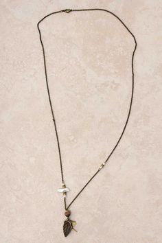 Jasper Charm Necklace on Emma Stine Limited
