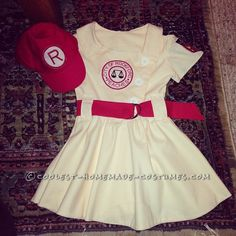 My Little Rockford Peach – League of Their Own Toddler Costume - 2
