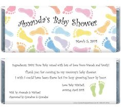 candy bar wrappers template for baby shower printable free - 1000 images about baby shower favors on pinterest candy