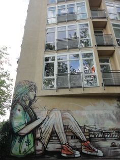 Street art at Warschauerstrasse