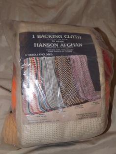 Vintage HANSON AFGHAN  L 343 by MineAlways on Etsy, $47.90
