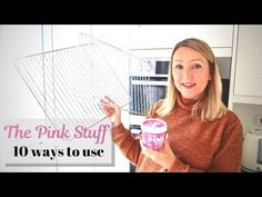 Hi Guys, In today's video I will show you 10 ways you can use the pink stuff, the miracle paste cleaner. I am actually obsessed with this stuff and if you ha. Speed Cleaning, Cleaning Hacks, Handy Tips, Helpful Hints, Vacuum Reviews, Pink Stuff, Natural Cleaning Products, Clean Up, Life Hacks