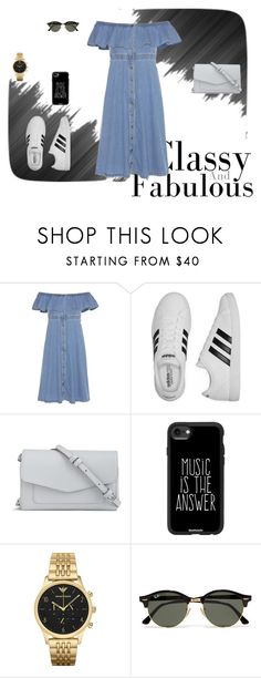 """""""Untitled #1037"""" by teszter0528 on Polyvore featuring Tommy Hilfiger, adidas, Vera Bradley, Casetify, Emporio Armani and Ray-Ban"""
