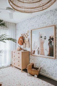 Our Favourite Room Reveals of 2019 – Hunter & Nomad Modern Nursery Decor, Nursery Neutral, Nursery Room, Kids Bedroom, Boho Nursery, Dora, Nursery Inspiration, Interiores Design, Decoration